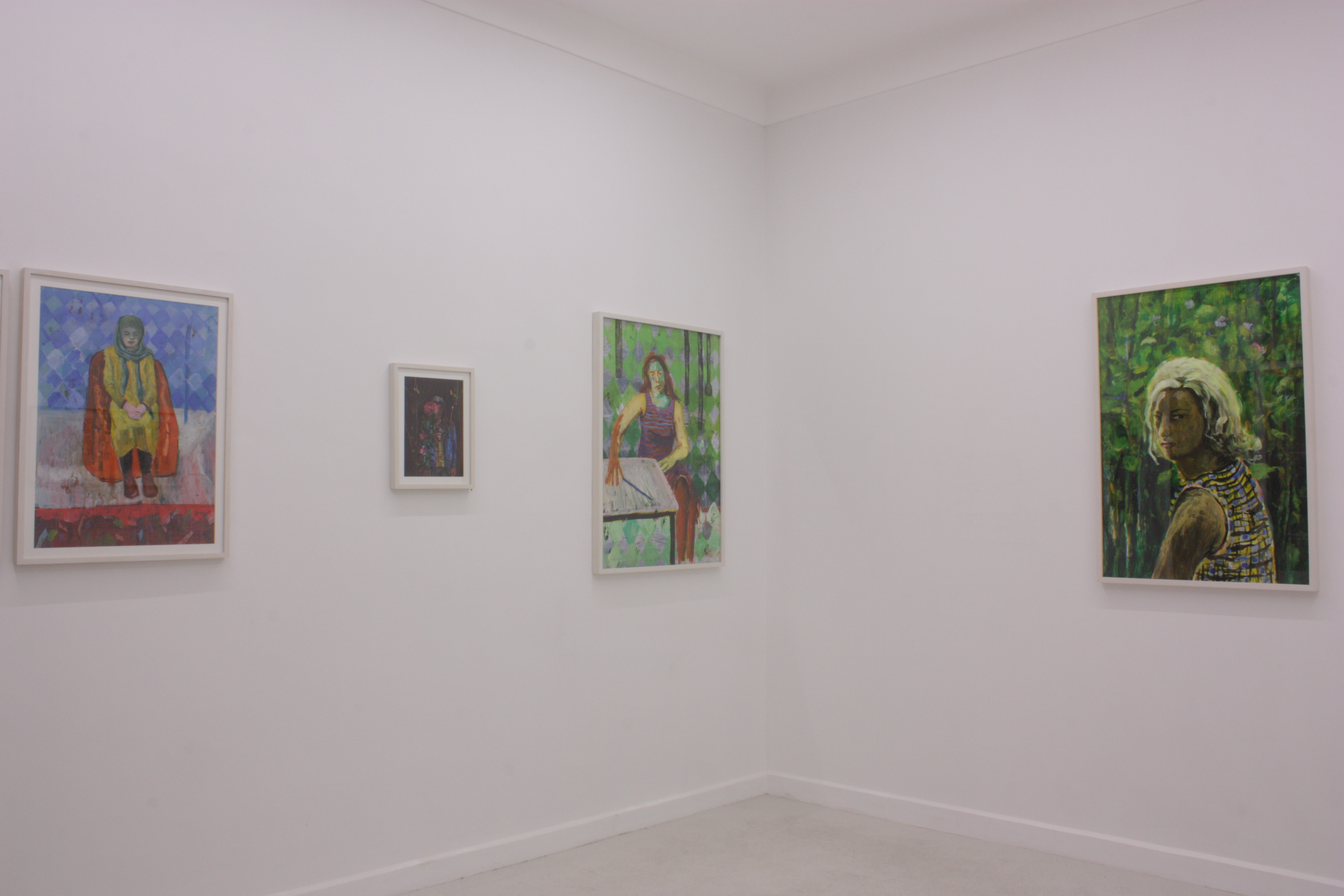 Installation view.Approaching The End Of Magic, The Plateau Closes in