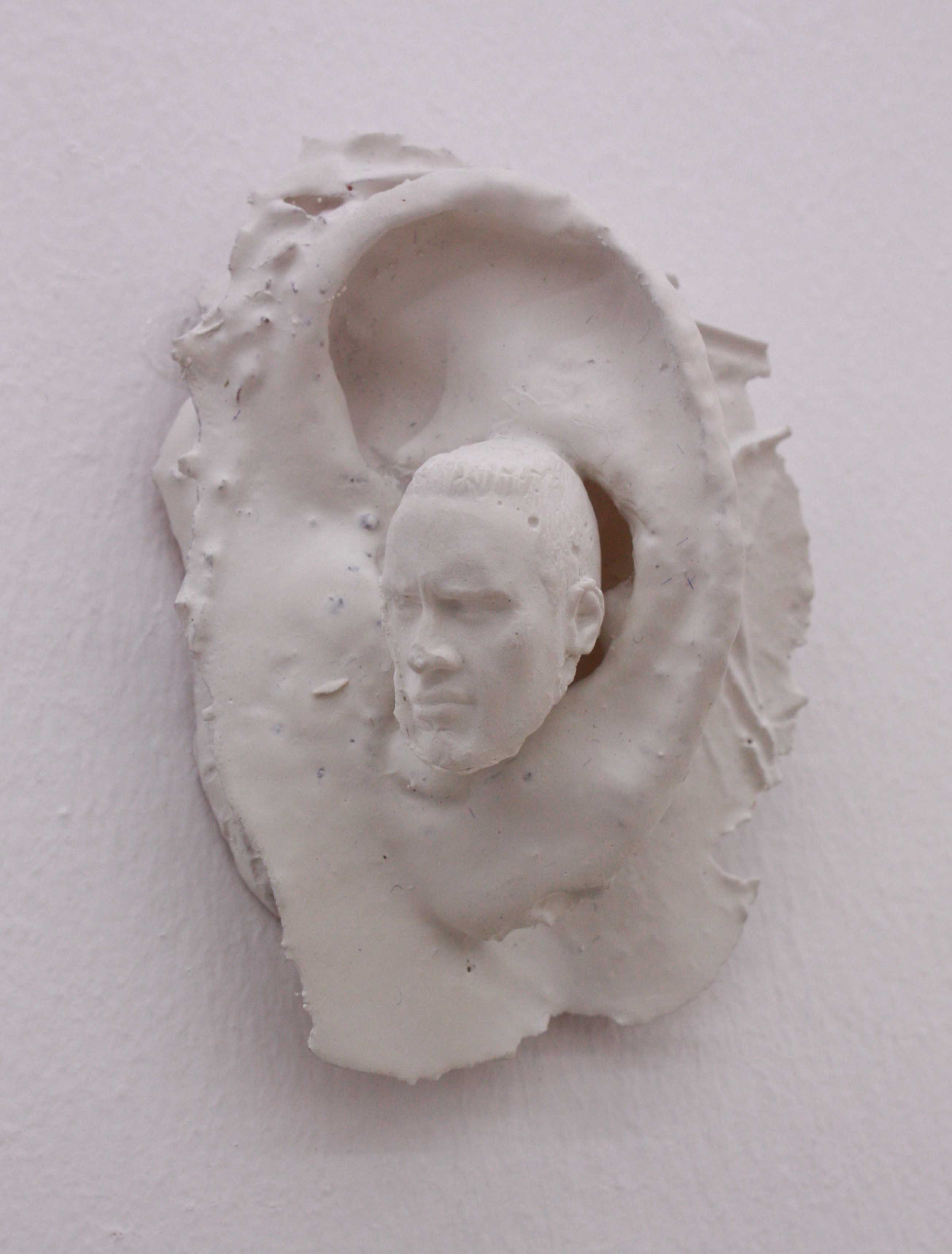Untitled, 2018, Plaster & rasin, 6 x 7 x 4 cm